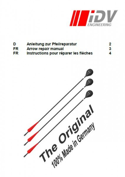 Arrow repair manual multilingual