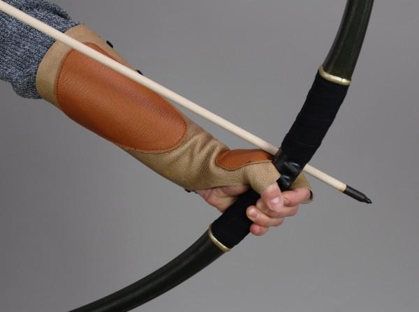 Lederhandschuh, Kombi-Handschutz